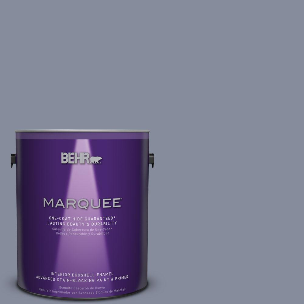 1 gal. #MQ5-12 Applause Please One-Coat Hide Eggshell Enamel Interior Paint