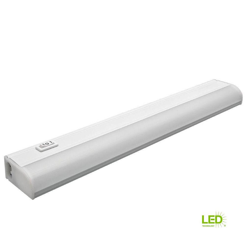 Led Striplight For Under Cabinet Lighting 330mm Linkable: Commercial Electric 12 In. Plug In Linkable Undercabinet