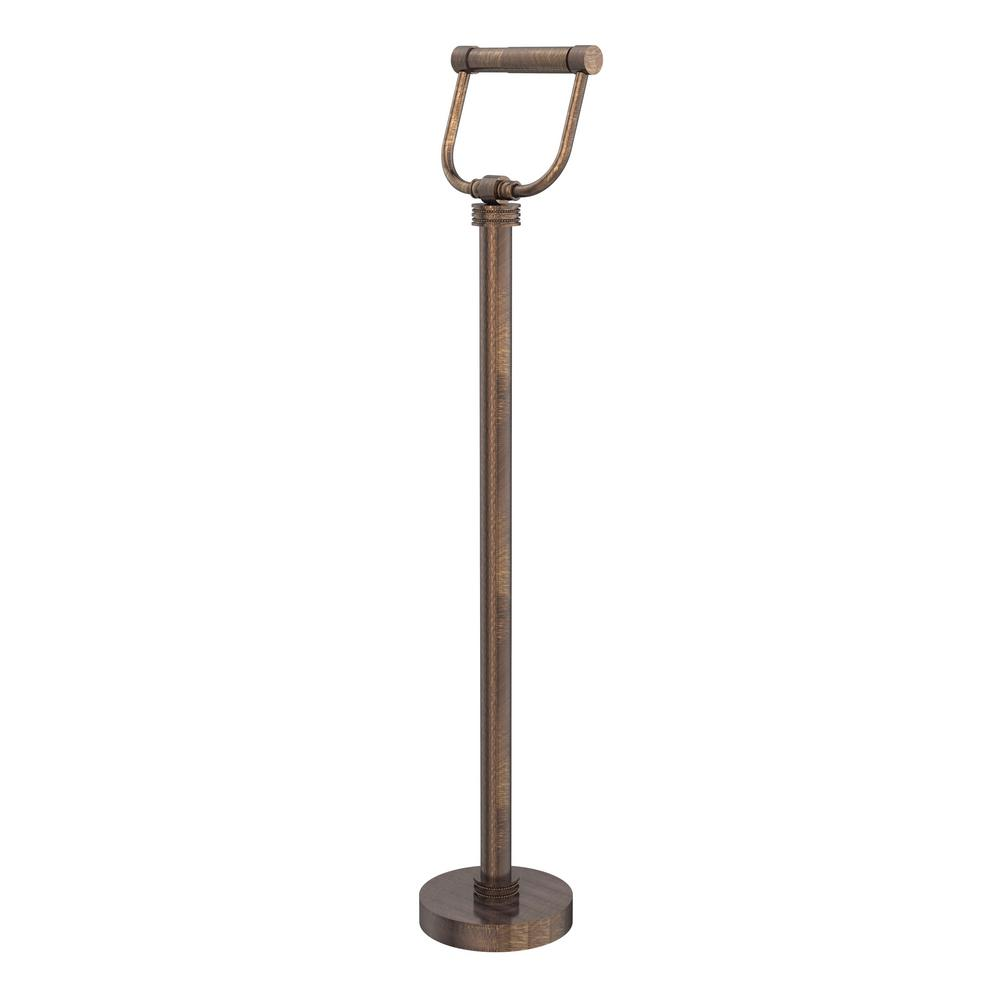 Allied Brass Free Standing Toilet Paper Holder in Venetian Bronze