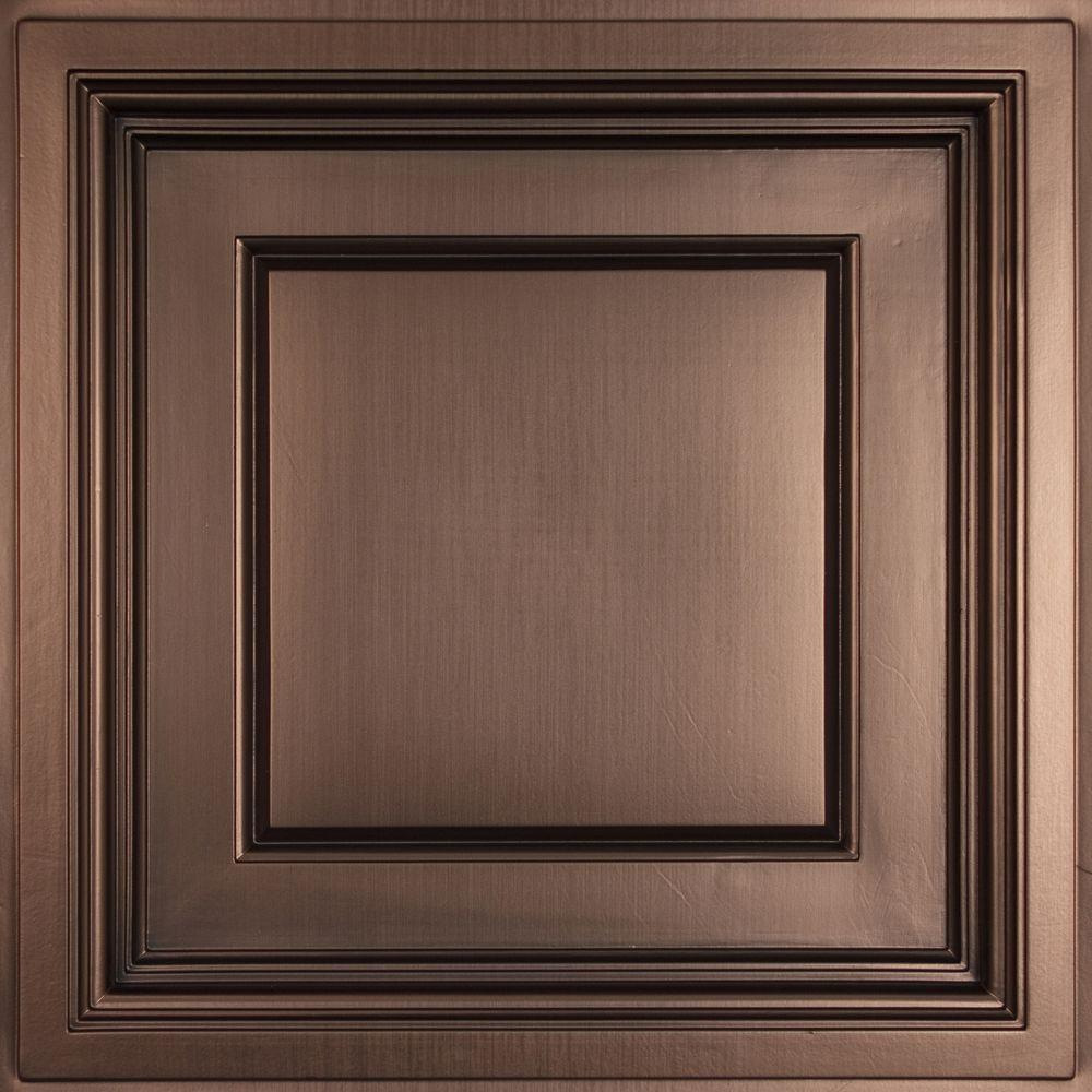 Ceilume madison faux bronze 2 ft x 2 ft lay in coffered ceiling ceilume madison faux bronze 2 ft x 2 ft lay in coffered ceiling dailygadgetfo Image collections