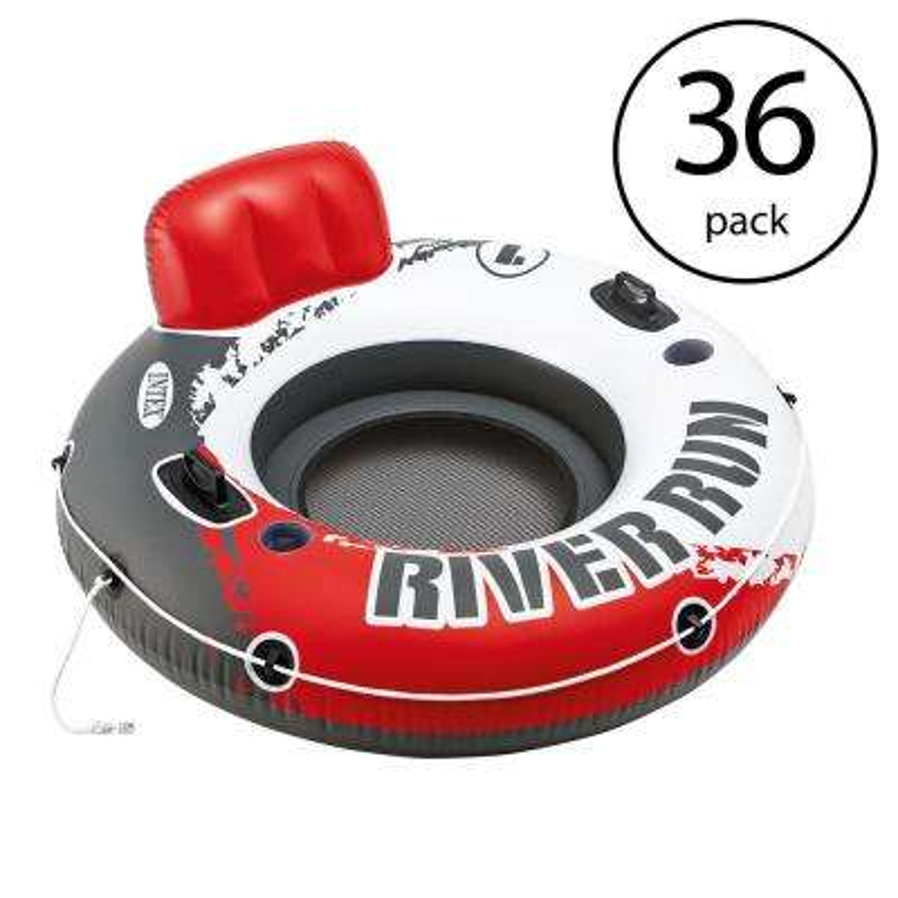 River Run I 53 in. Inflatable Floating Tube Lake Pool Ocean Raft (36-Pack)