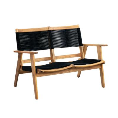 Modern 47 in. Wood Sofa Bench
