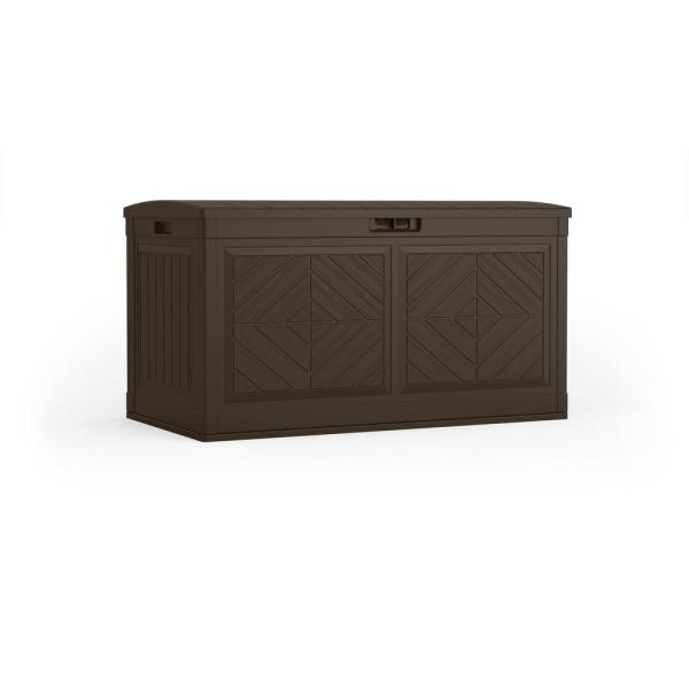 Suncast BMDB80J Deck Box Brown