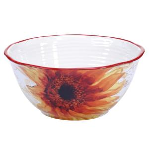 Paris Sunflower Deep Serving Bowl by