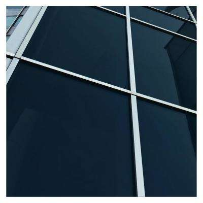 48 in. x 50 ft. PRGY Premium Color High Heat Control and Daytime Privacy Gray Window Film