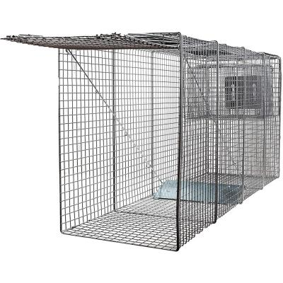 X-Large One Door Catch Release Heavy-Duty Humane Cage Live Animal Traps for Large Dogs and Other Same Sized Animals