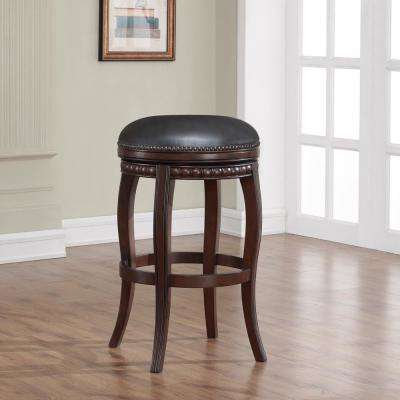 Alonza 30 in. Navajo Swivel Cushioned Bar Stool