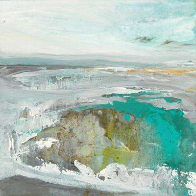 "84 in. x 84 in. ""Ocean II"" by Grace Rowman Canvas Wall Art"