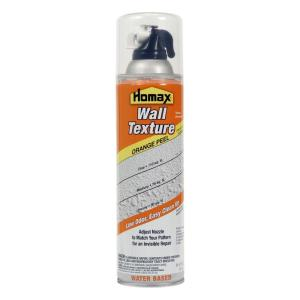 Homax 20 Oz Wall Orange Peel Low Odor Water Based Spray