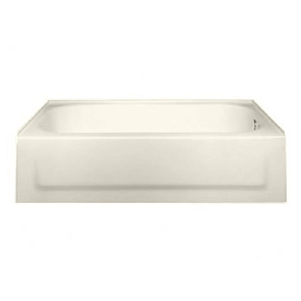 American Standard New Solar 5 ft. Right Drain Soaking Tub in Linen-DISCONTINUED