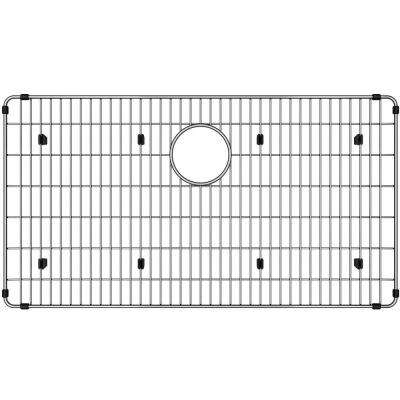 Stainless Steel Kitchen Sink Bottom Grid - Fits Bowl Size 30 in. x 17 in.