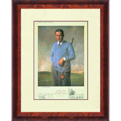 18.5.in x 13.75.in''Bobby Jones, Open Champion, 1926'' By PTM Images Framed Printed Wall Art