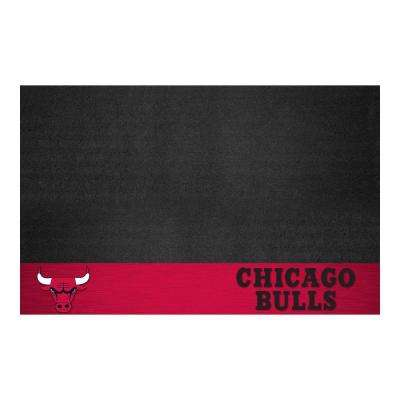 Chicago Bulls 26 in. x 42 in. Grill Mat