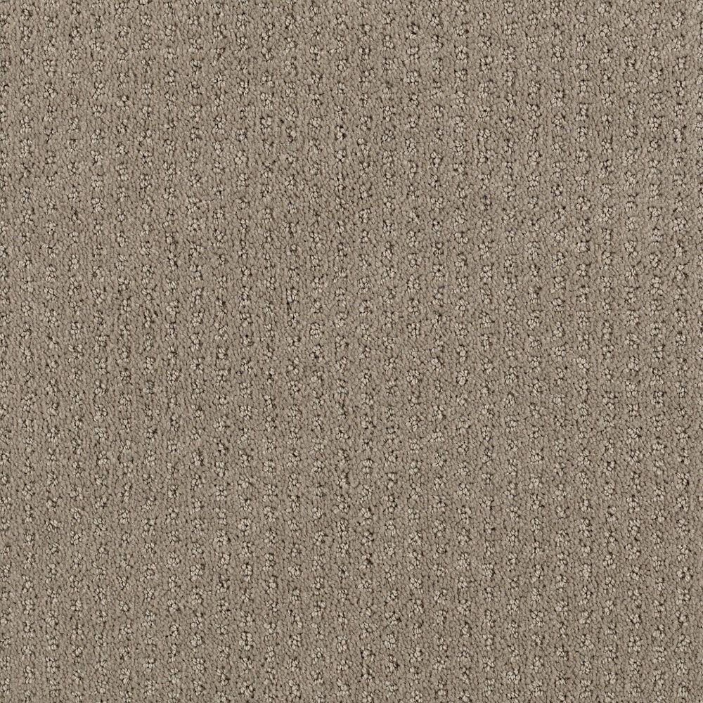 Sequin Sash - Color Winter Leaf Pattern 12 ft. Carpet