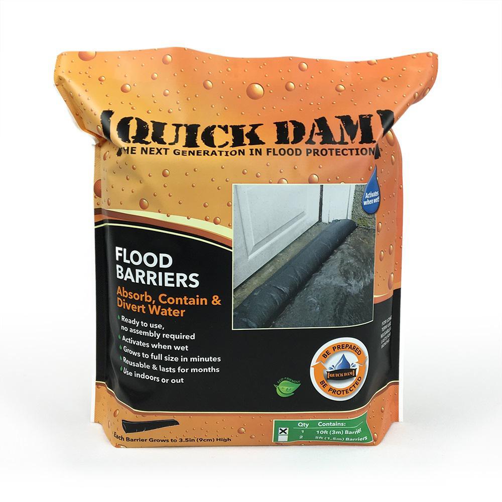 Quick Dam Flood Barrier Home Depot