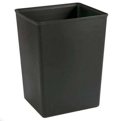 42 gal. Black Rigid Liner for 56 gal. Trash Container (4-Pack)