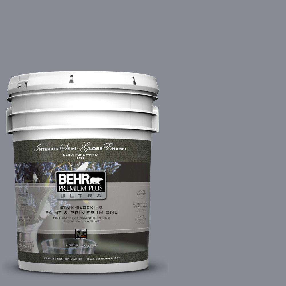 5-gal. #ECC-23-2 Heather Field Semi-Gloss Enamel Interior Paint