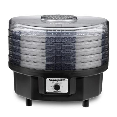 5-Tray Black Food Dehydrator