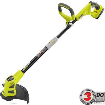 ONE+ 18-Volt Lithium-Ion Hybrid Electric Cordless String Trimmer/Edger - 1.3 Ah Battery and Charger Included