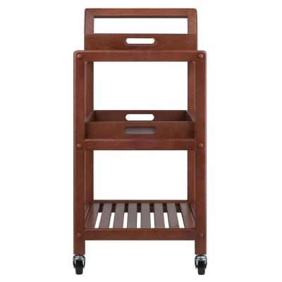 Albert Walnut Kitchen Cart