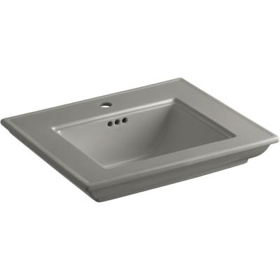 Memoirs Stately 24.5 in. Console Bathroom Sink Basin in Cashmere