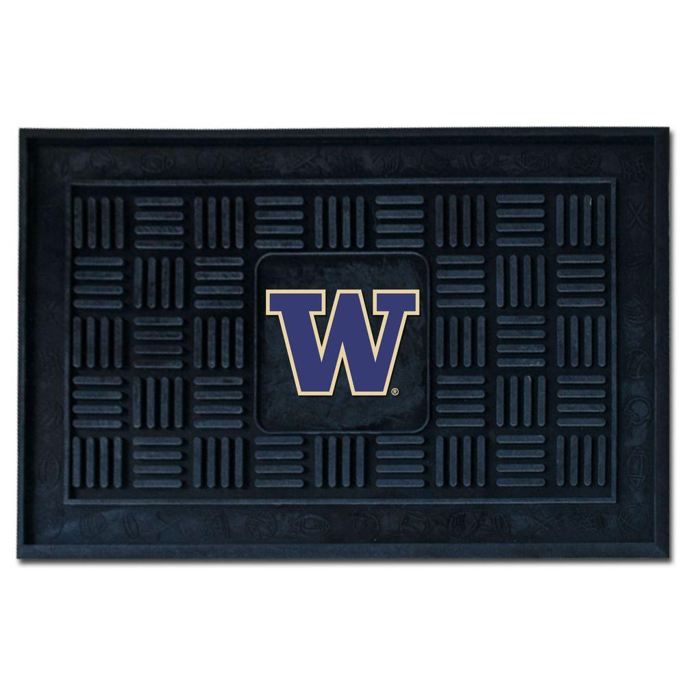 NCAA University of Washington 19 in. x 30 in. Vinyl Door Mat