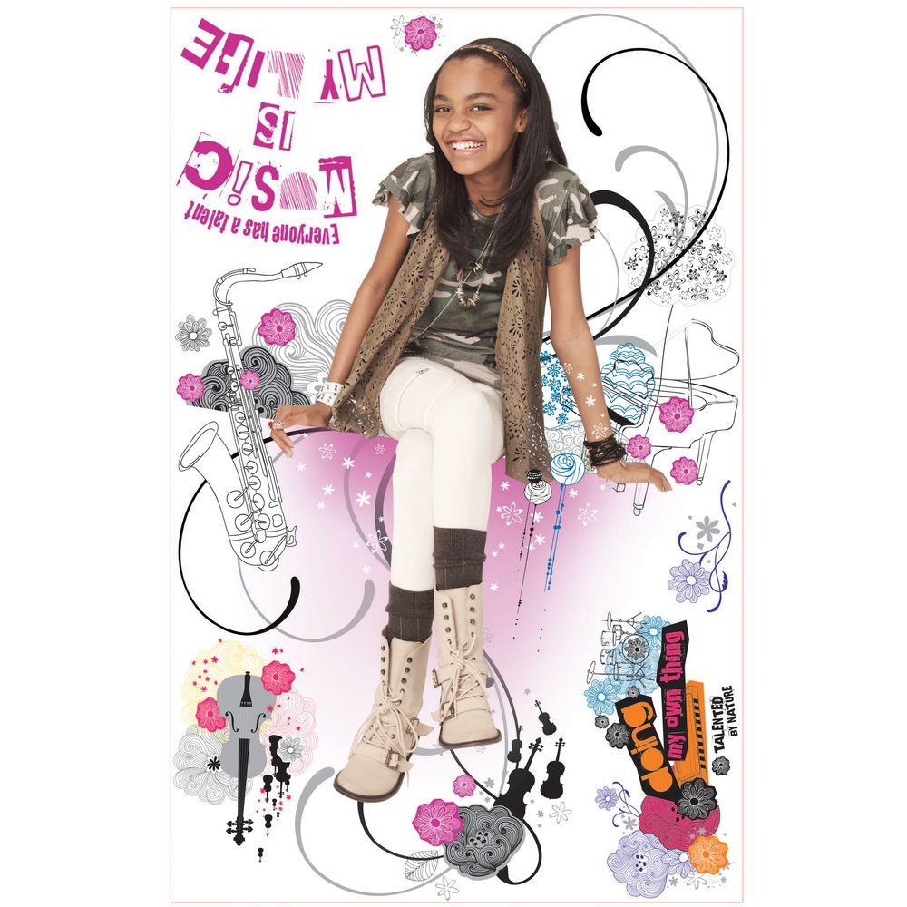 null 27 in. x 40 in. ANT Farm Giant 7-Piece Peel and Stick Wall Decals-DISCONTINUED