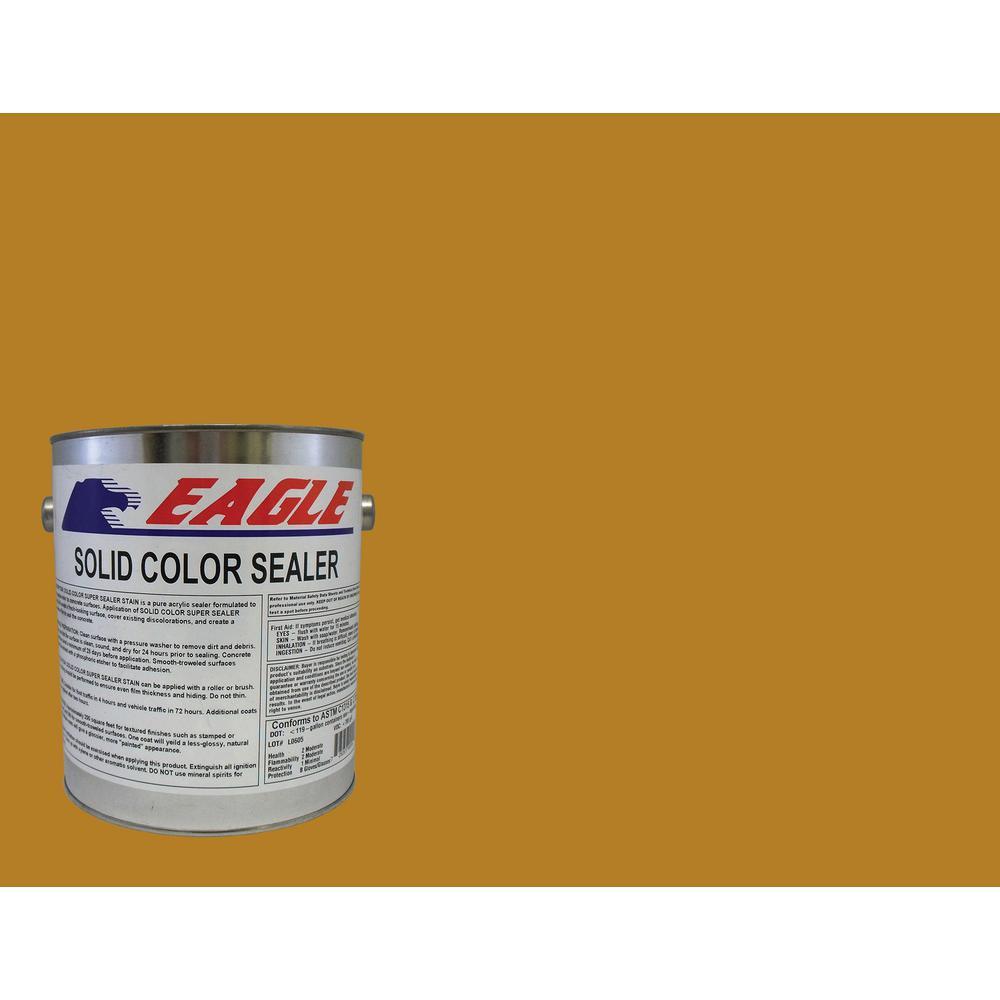1 gal. Terra Orange Solid Color Solvent Based Concrete Sealer