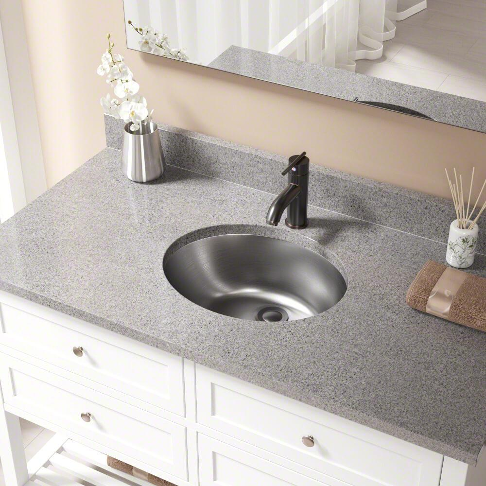 MR Direct Dual-Mount Bathroom Sink in Stainless Steel with Pop-Up Drain on antique metal sink cabinet, antique metal laundry sink, antique metal tub sink, antique metal double sink,