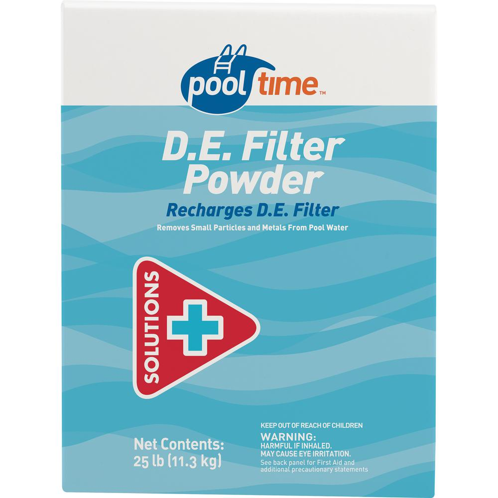 Pool Time 25 Lbs De Filter Powder 23702ptm The Home Depot