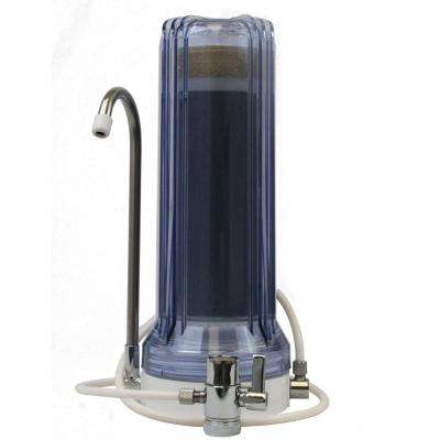 2-Stage Countertop Water Filter in Clear