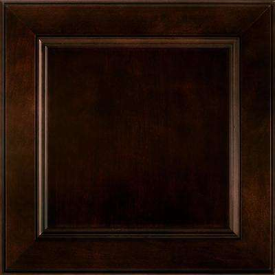 14-9/16 x 14-1/2 in. Cabinet Door Sample in MacArthur Cherry Java