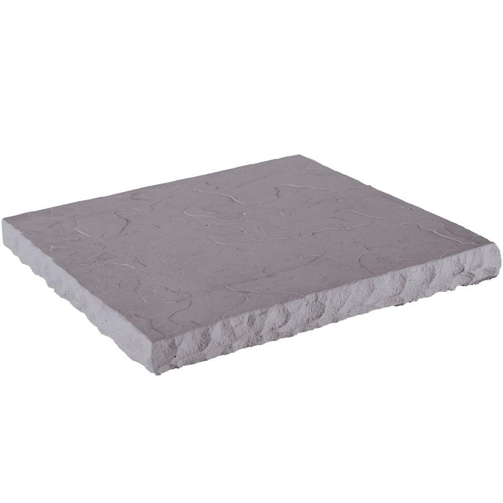 Veneerstone Hearth Stone/Flat Wall Coping Slate 19 in. x 20 in. Manufactured Stone Accessory