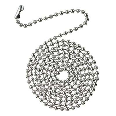 3 ft. Chrome Beaded Chain with Connector