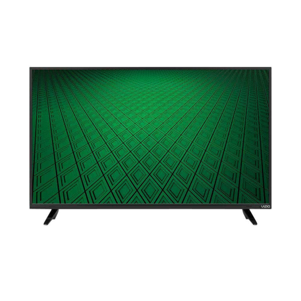 vizio d series 39 in class full array led 720p 60hz hdtv d39hn d0 the home depot. Black Bedroom Furniture Sets. Home Design Ideas