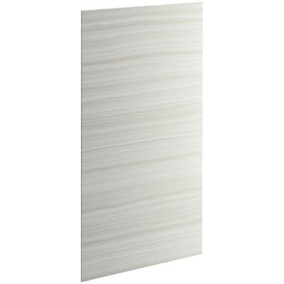 Choreograph 72 in. x 32 in. Shower Side Wall in VeinCut Dune (Set of 2)
