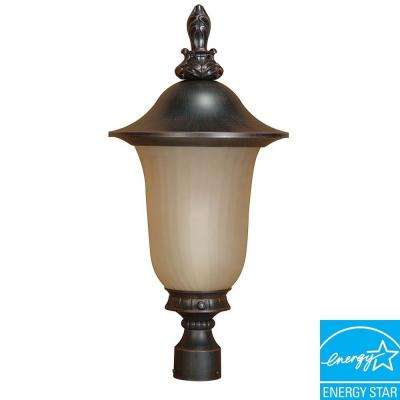 Outdoor Old Penny Bronze Post Lantern