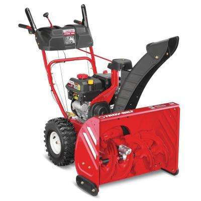Storm 26 in. 208cc Two-Stage Electric Start Gas Snow Blower with 1-Hand Operation
