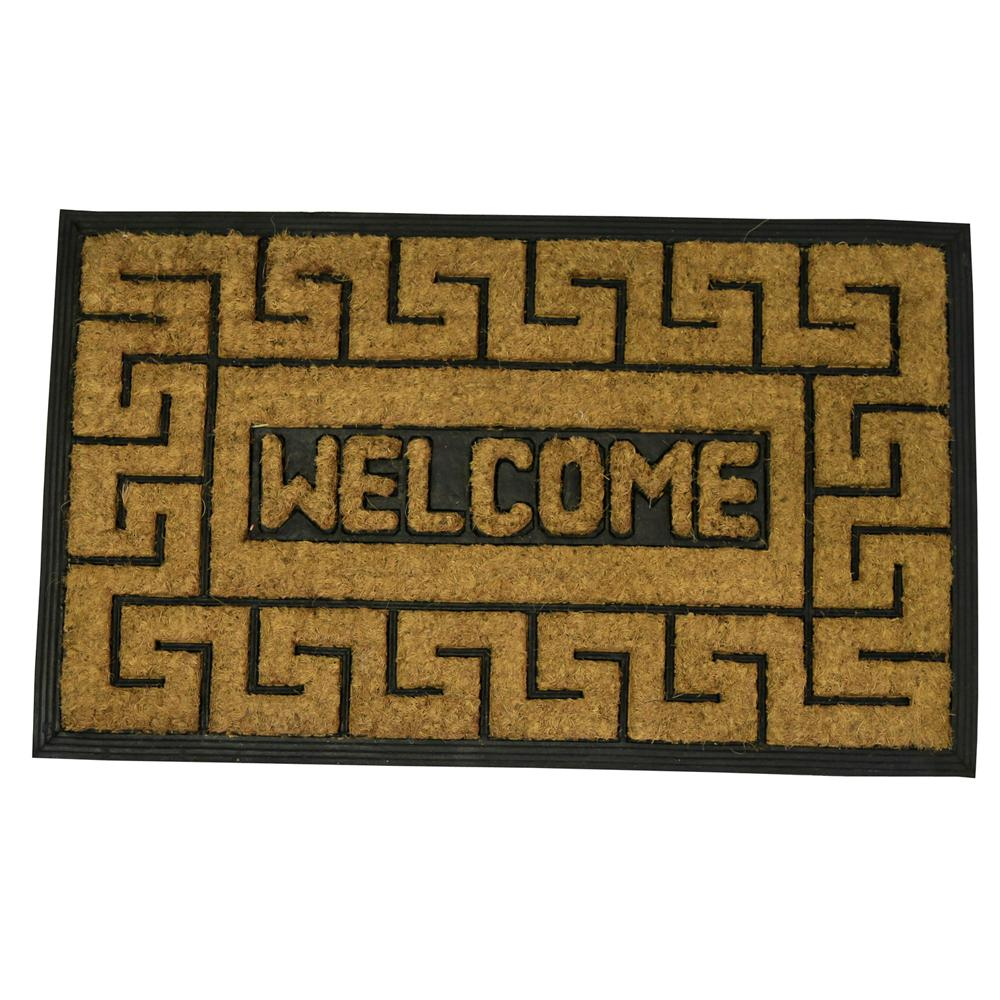 personalized interior exterior impressive from com welcome walmart decor mats and home vanity front doors amazing outdoor door mat