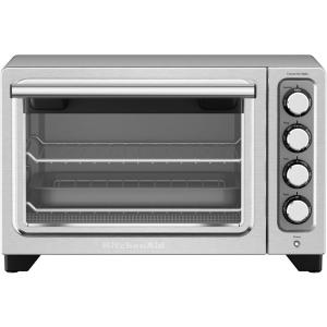 KitchenAid Compact Contour Silver Nonstick Interior Countertop Toaster Oven by KitchenAid