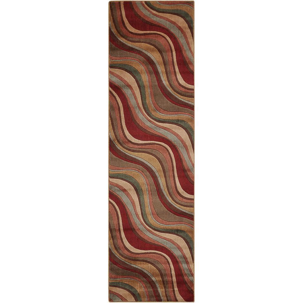 Somerset Multicolor 2 ft. x 6 ft. Runner Rug