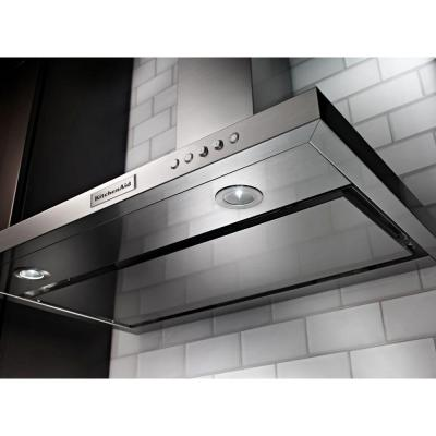 36 in. Convertible Wall Mount Range Hood in Stainless Steel