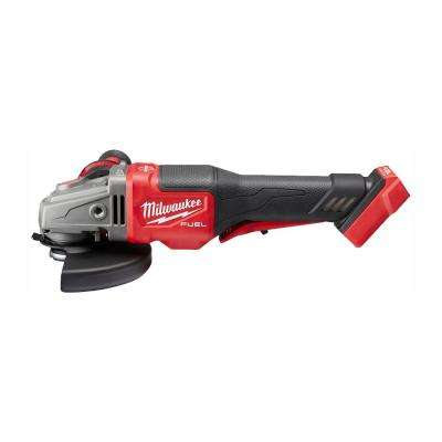 M18 FUEL 18 Volt Lithium Ion Brushless Cordless 4 1 2 In 6 In Braking Grinder With Paddle Switch Tool Only