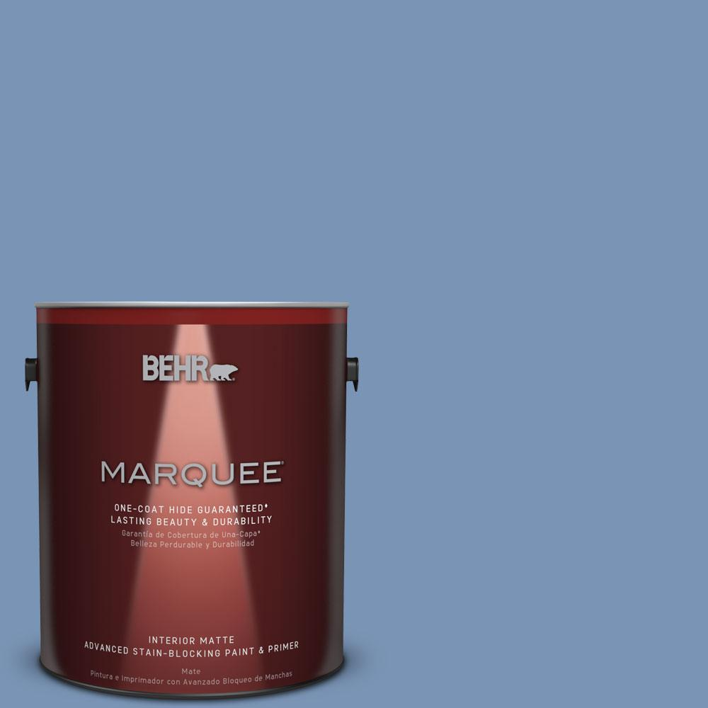 Behr Marquee 1 Gal T13 5 Belladonna Matte Interior Paint 145401 The Home Depot