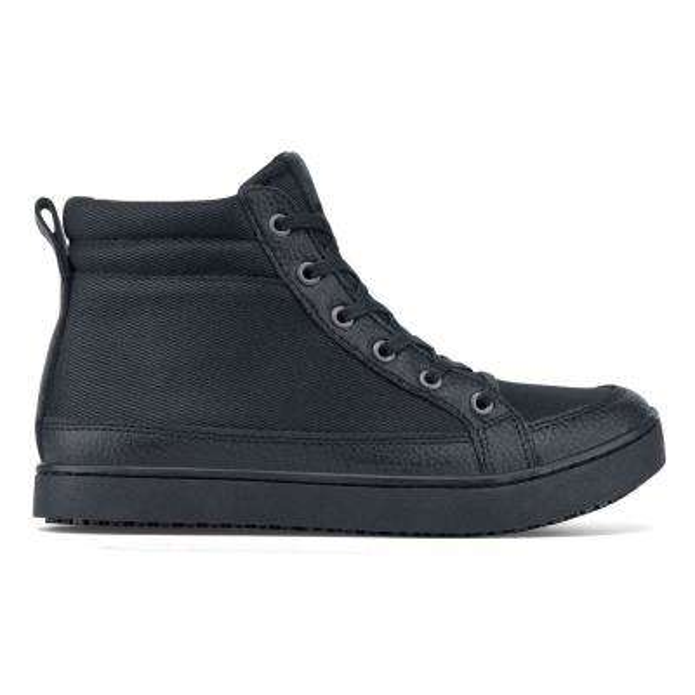 Padma Women's Size 7M Black Mesh/Synthetic Slip-Resistant Work Shoe