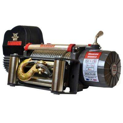 Samurai Series 9,500 lb. Capacity 12-Volt Electric Winch with 85 ft. Steel Cable
