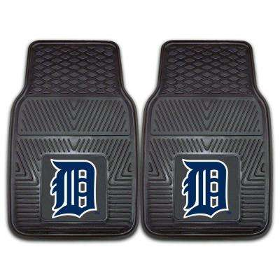 Detroit Tigers 18 in. x 27 in. 2-Piece Heavy Duty Vinyl Car Mat