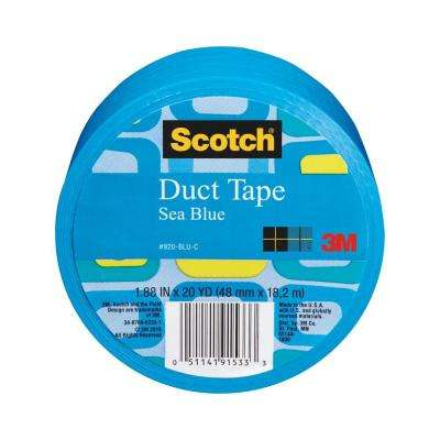 Scotch 1.88 in. x 20 yds. Blue Duct Tape (Case of 6)