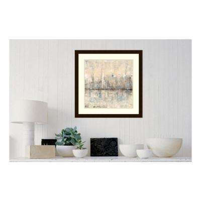 "25 in. H x 25 in. W ""Impressionist Skyline I"" by "" Tim O""Toole"" Framed Print Wall Art"