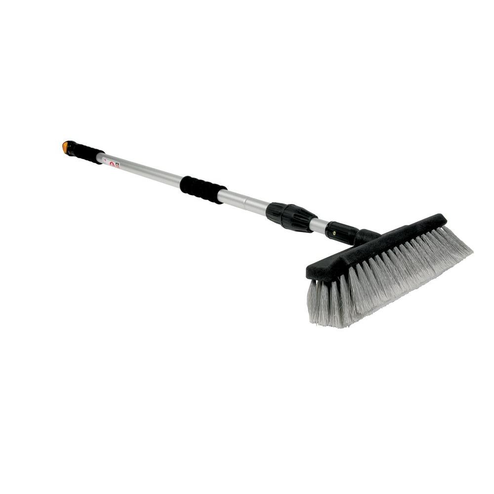 Camco Rv Wash Brush With Adjule Handle